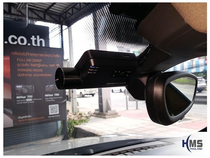 20180605 Porsche Cayenne_DVR_Thinkware_F800_Pro_front,กล้องบันทึกเหตุการณ์,กล้องติดหน้ารถ