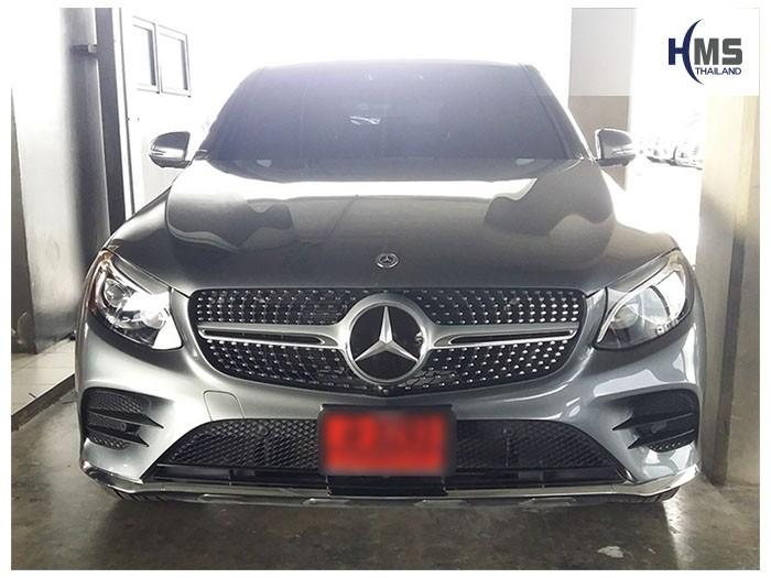 20180827 Mercedes Benz GLC250_Coupe_W253_front,ติดกล้องติดรถยนต์บนรถ Mercedes Benz GLC250 Coupe W253
