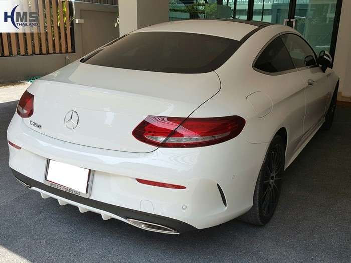Mercedes Benz C250 Coupe Back