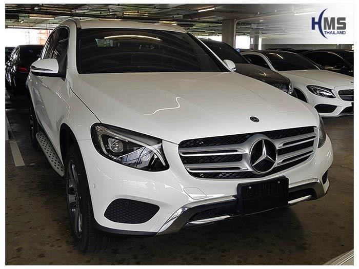 20180904 Mercedes Benz GLC250d_W253_front,ภาพรถ Mercedes Benz GLC250d W253 ติดตั้งกล้องติดรถยนต์โดย HMS Thailand