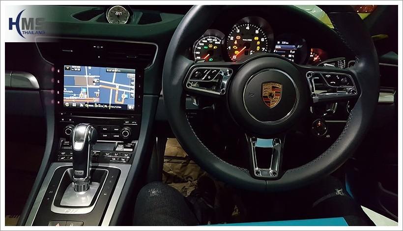 20171016 Porsche 911Carrera Navigation box T3000