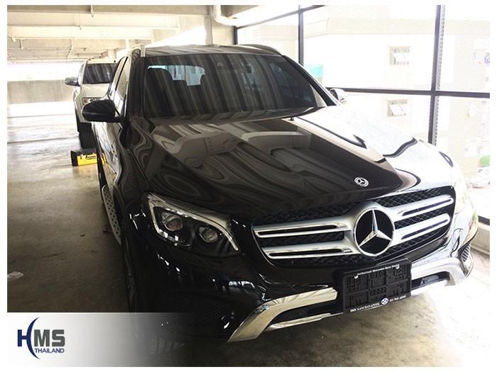 20180616 Mercedes Benz GLC250d_W253_front,ติดตั้งกล้องติดหน้ารถ บน Mercedes Benz GLC250d