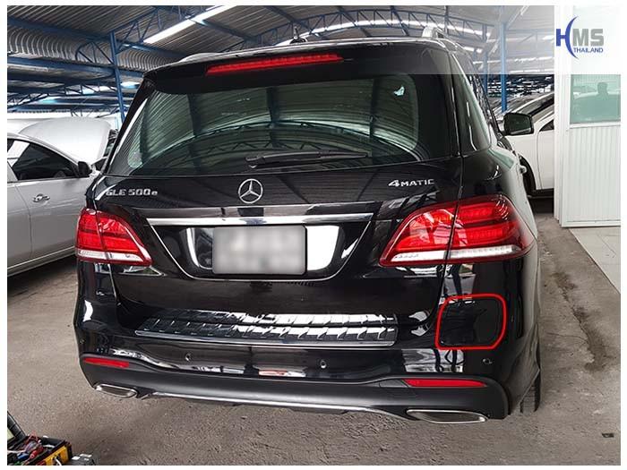 20170615 Mercedes Benz GLE500e_X166_Back