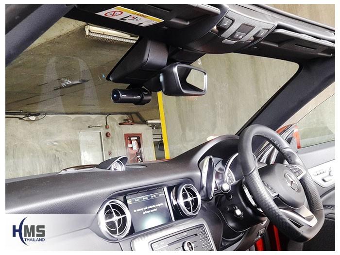 Mercedes Benz SLC300 R173 (กล้องติดรถยนต์ BlackVue DR750S 1CH)