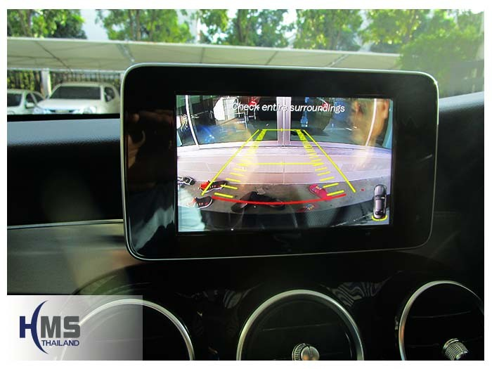 20161201 Benz C180_W205_Rear camera View_Q cam