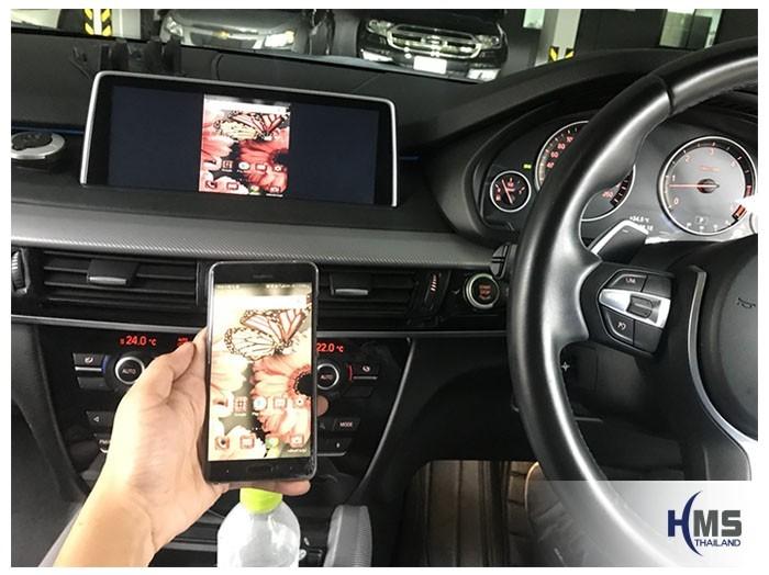 20180806 BMW X5 F15_wifi box_main_menu,carplay , android auto, screen mirroring, ภาพมือถือขึ้นจอรถยนต์, Screen mirror, mirror link, car wifi display, car wifi