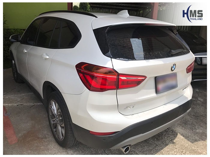20190507 BMW X1 F48 back,ภาพท้ายรถ BMW X1 F48 SDrive 18i