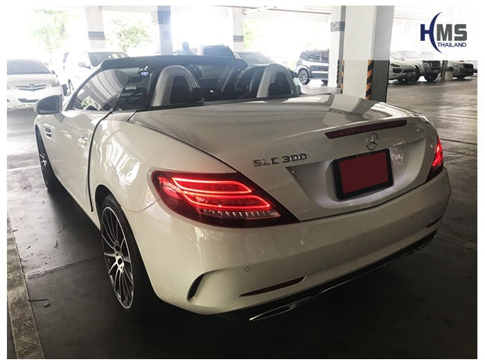 20180821 Mercedes Benz SLC300 R173_back,Benz, Mercedes ,เบนซ์ ,เมอร์เซเดส, ซาลูน,ราคาเบนซ์,facelift ,Brabus ,AMG ,Bluetec ,Hybrid,ไฮบริด,