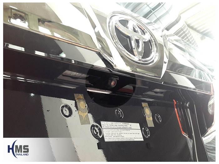 20180903 Toyota Vellfire Rear camera,กล้องถอยหลังติดตั้งท้ายรถ Toyota Vellfire
