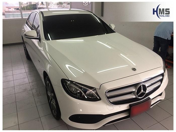 20180825 Mercedes Benz E350e_W213_front,ติดกล้องติดรถยนต์ยนรถ Mercedes Benz E350e W213 โดย ทีมงาน HMS Thailand