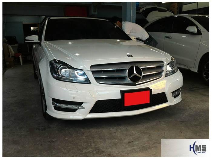 20161206 Benz C250 W204 front