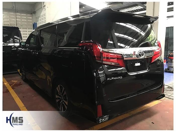 20180809 Toyota Alphard_back,ติดอุปกรณ์บน Toyota Alphard โดย HMS Thailand