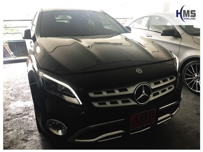 20180801 Mercedes Benz GLA200_W156_front,ติดกล้องติดรถยนต์ บน Mercedes Benz GLA200 W156