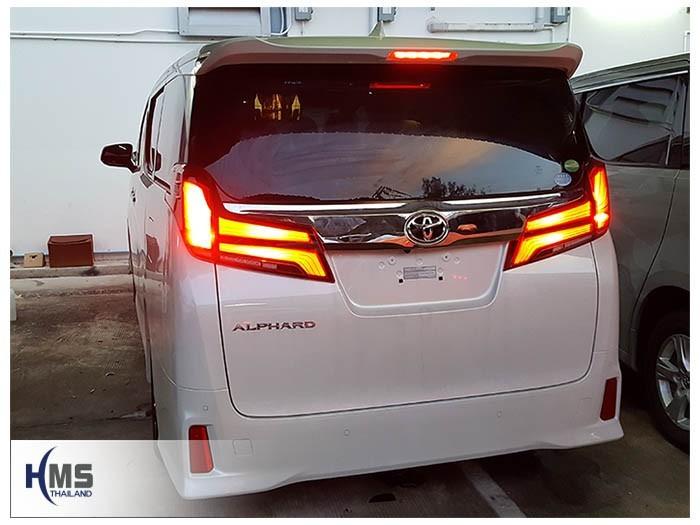 20180509 Toyota Alphard_back