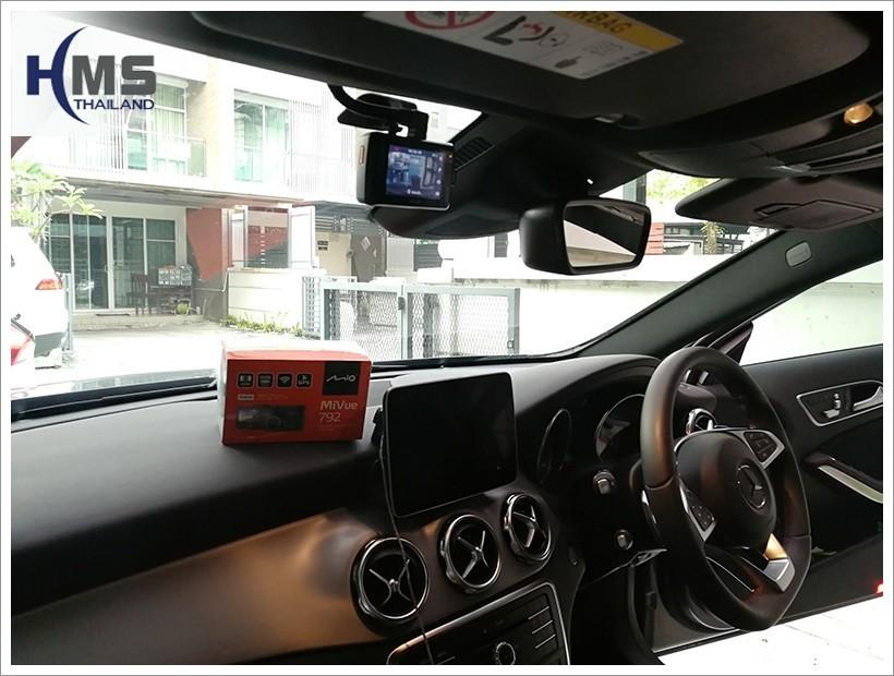 20180418 Mercedes Benz GLA250 W156_DVR_Mio_MiVue_792_Wifi_back