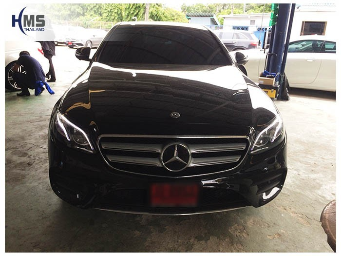20180625 Mercedes Benz E350e_W213_front,ติดกล้องติดรถยนต์ บน Mercedes Benz E350e