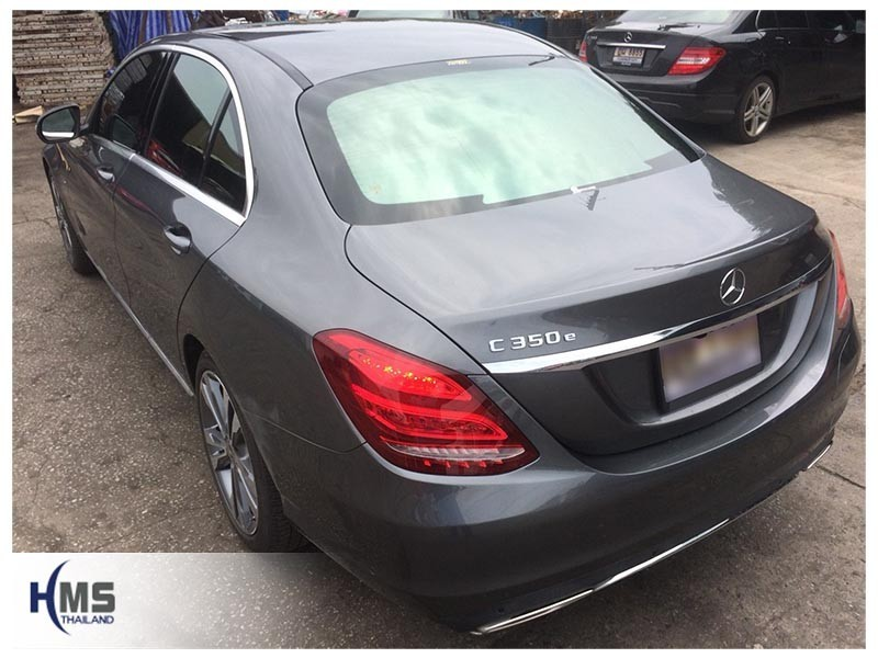 20180821 Mercedes Benz C350e_W205_back,Benz, Mercedes ,เบนซ์ ,เมอร์เซเดส, ซาลูน,ราคาเบนซ์,facelift ,Brabus ,AMG ,Bluetec ,Hybrid,ไฮบริด