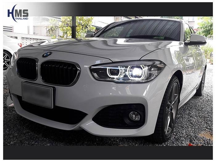 20180620 BMW 118i_F20_front,ติดอุปกรณ์รถ BMW โดย HMS Thailand
