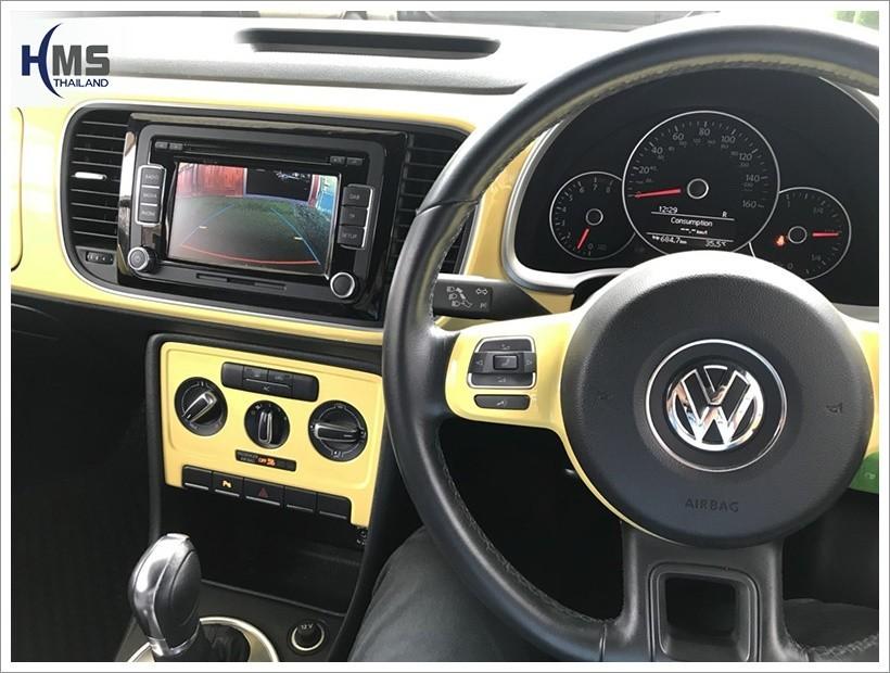 20180424 Volkswagen Beetle กล้องมองหลัง