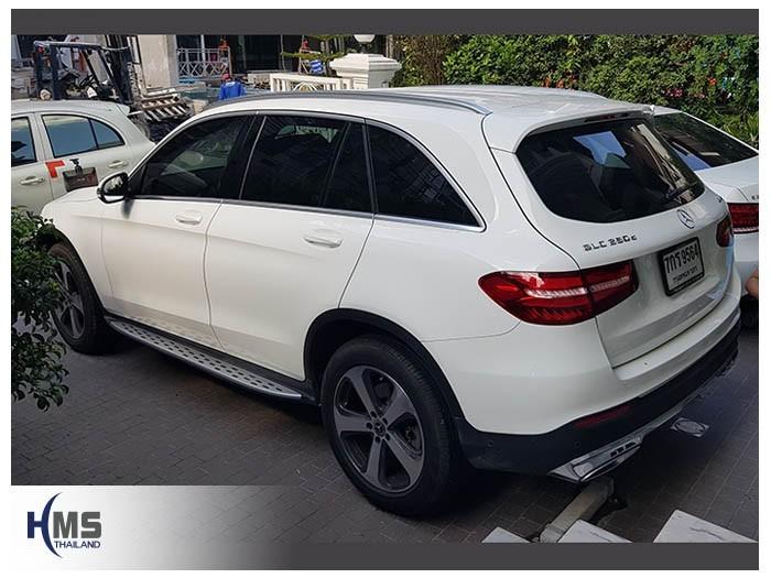 20180901 Mercedes Benz GLC250d_back,ภาพท้ายรถ Mercedes Benz GLC250d W253 ติดตั้งกล้องติดรถยนต์โดยทีมงาน HMS Thailand