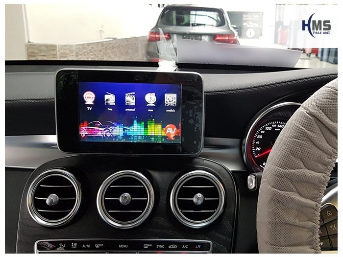 20170912 Mercedes Benz GLC250d_X253_TV Digital_ASUKA_HR600_Main menu
