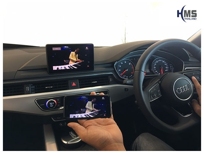 20190502 Audi A5 40TFSI Wifi box Youtube