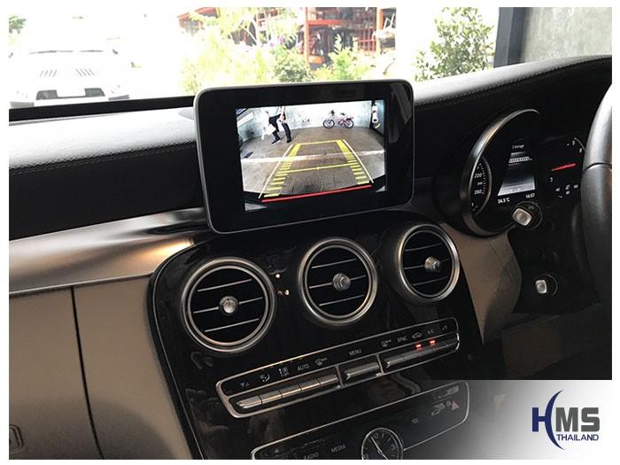 20170607 Mercedes Benz C180_W205_Rear camera_view