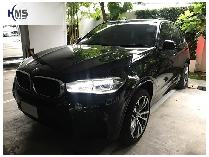 20180806 BMW X5 F15_front,ติด Screen mirror บน BMW X5 F15