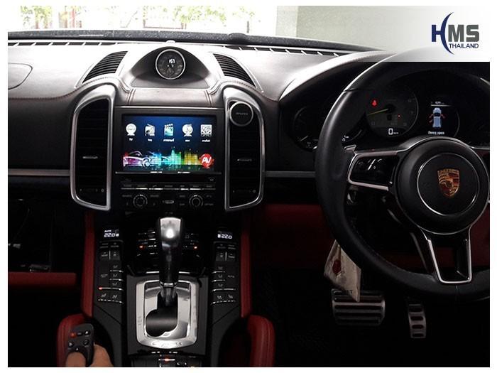 Porsche CayenneS PCM3.1 (TV Digital ASUKA HR600+Wifi box)
