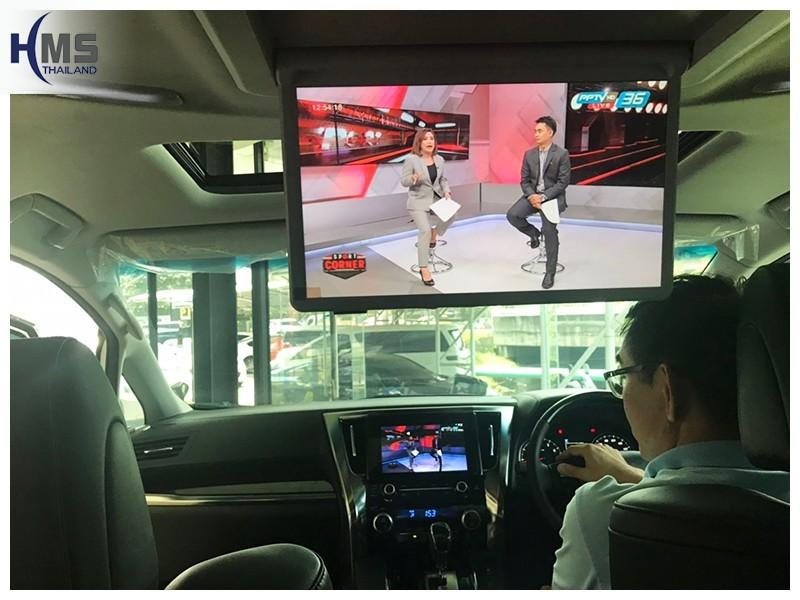 20181001 Toyota Alphard_Roof Monitor_Alphard_13.3