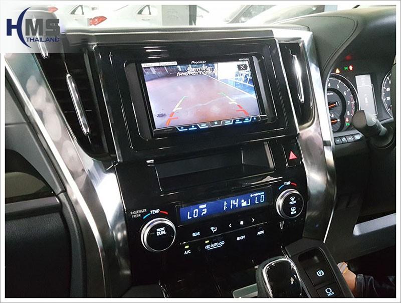 20170720 Toyota Alphard_Rear camera_view