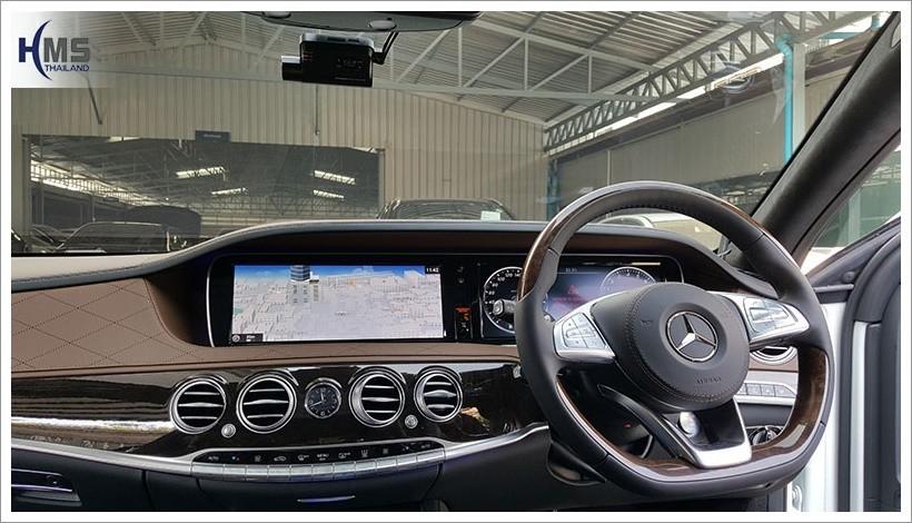 20171216 Mercedes Benz S500_W222_DVR_Thinkware_F770_front