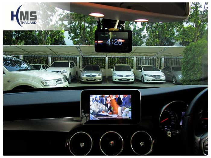 20161201 Benz C180_W205_Digital TV_AZUKA_HR600_DVR_Lukas_LK9750