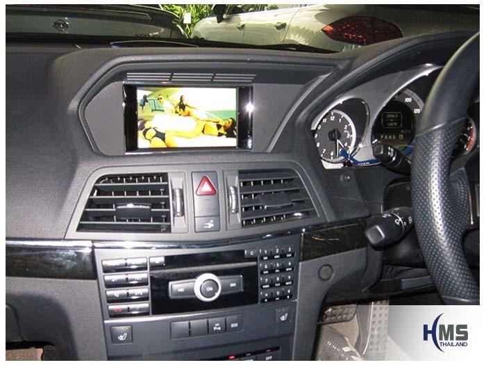 ติด Mirror Link GI9000 บน Mercedes Benz E250 Coupe W207