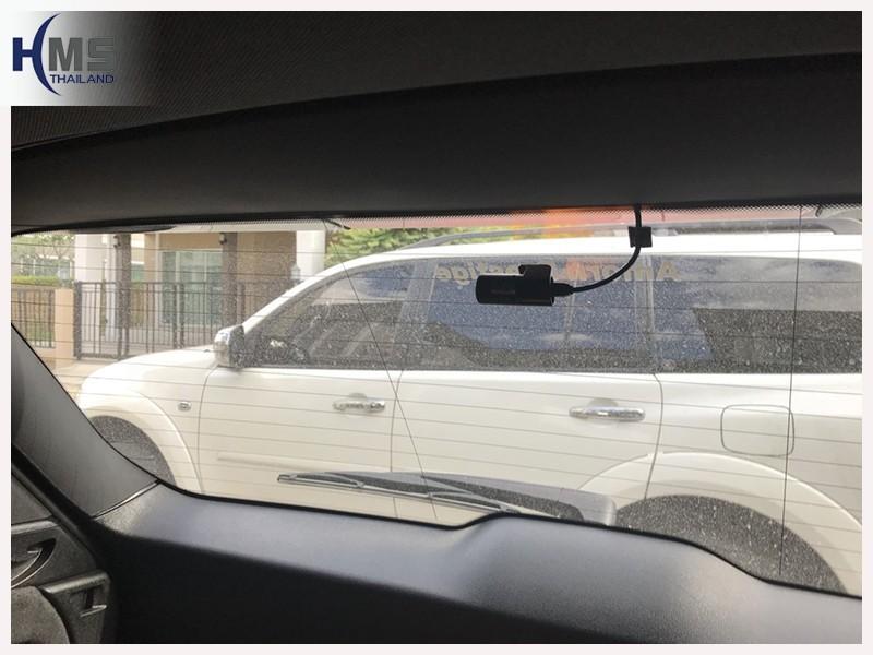 20180703 กล้องหลังรถ, Thinkware F800 Pro rear,กล้องบันทึกเหตุการณ์ ,กล้องบันทึก, กล้องติดหน้ารถ, กล้องวีดีโอ,DVR, Driving Video recorder, thinkware,