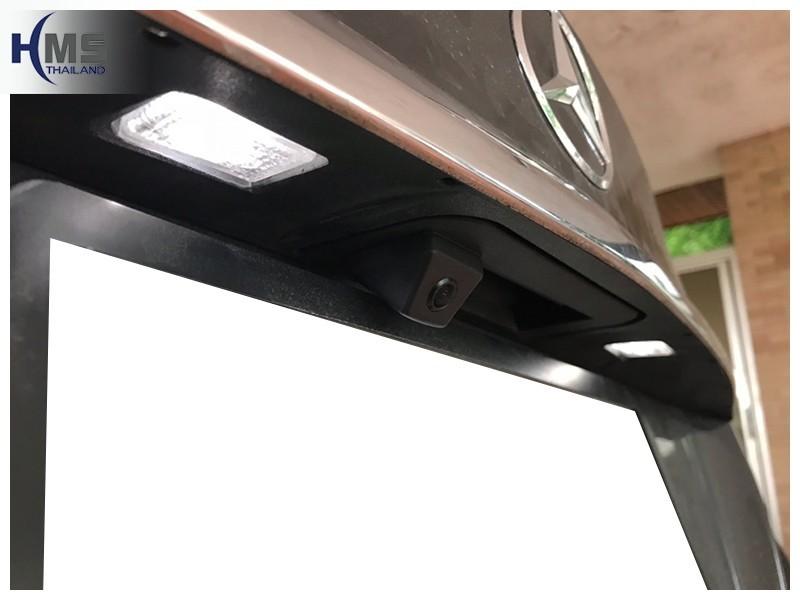 20181004 Mercedes BenzC180 Rear camera,,Rear camera,จอถอยหลัง,กล้องมองหลัง,กล้องถอยหลัง,หมุนตามพวงมาลัย,PAS,Park assistant system