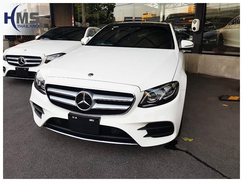 20190429 Mercedes Benz E350e W213_front,รถ Mercedes Benz E350e W213 ติดกล้องติดรถยนต์โดย HMS Thailand
