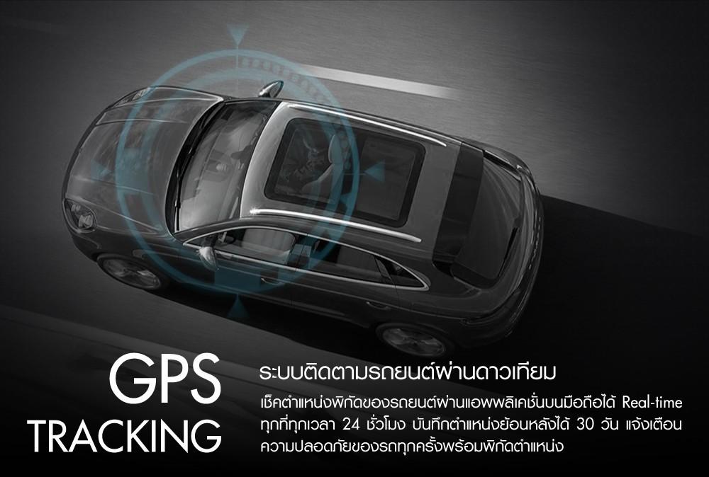 กล้องติดรถยนต์ GPS ติดตามตาม