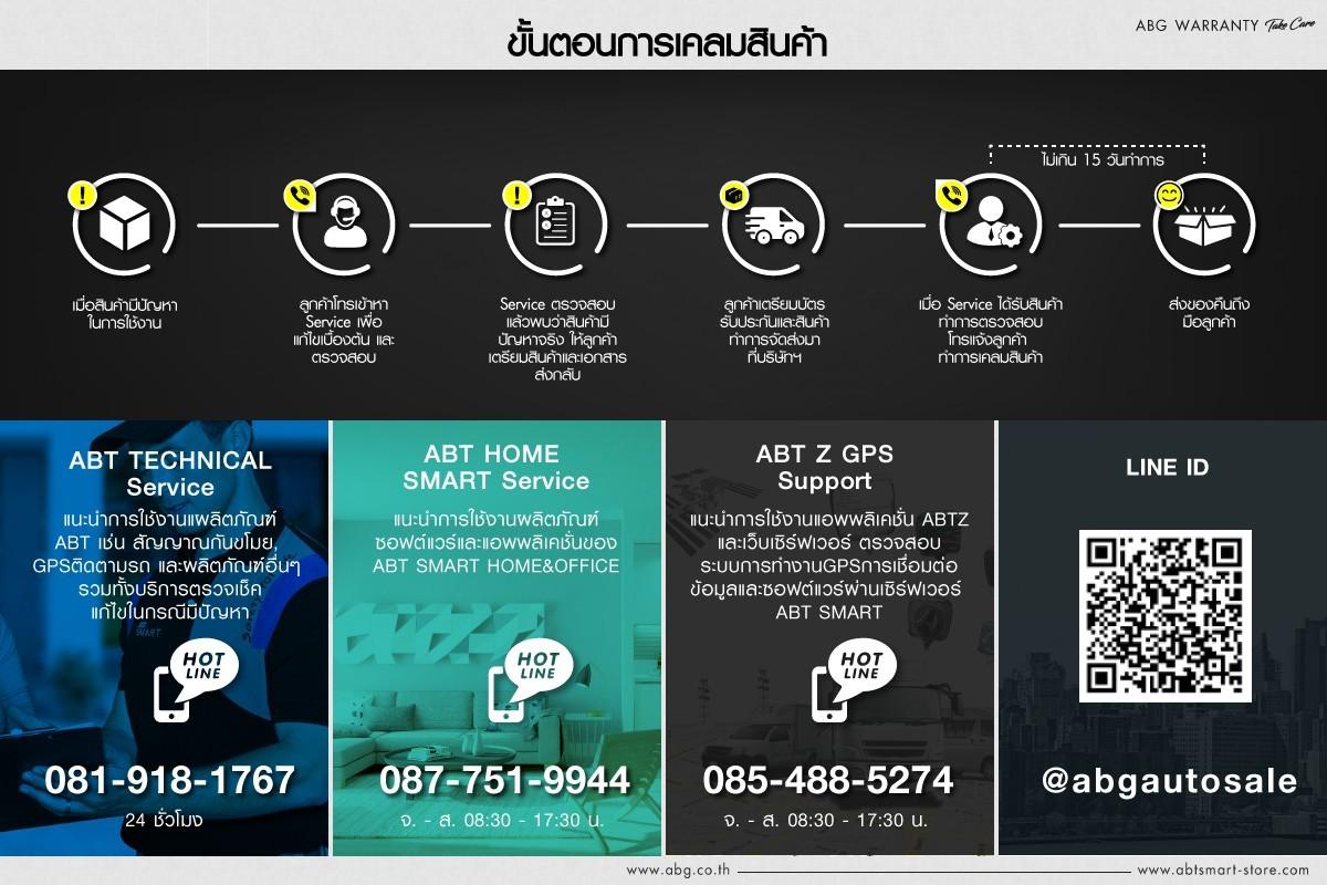 การรับประกันสินค้า ABT การบริการ