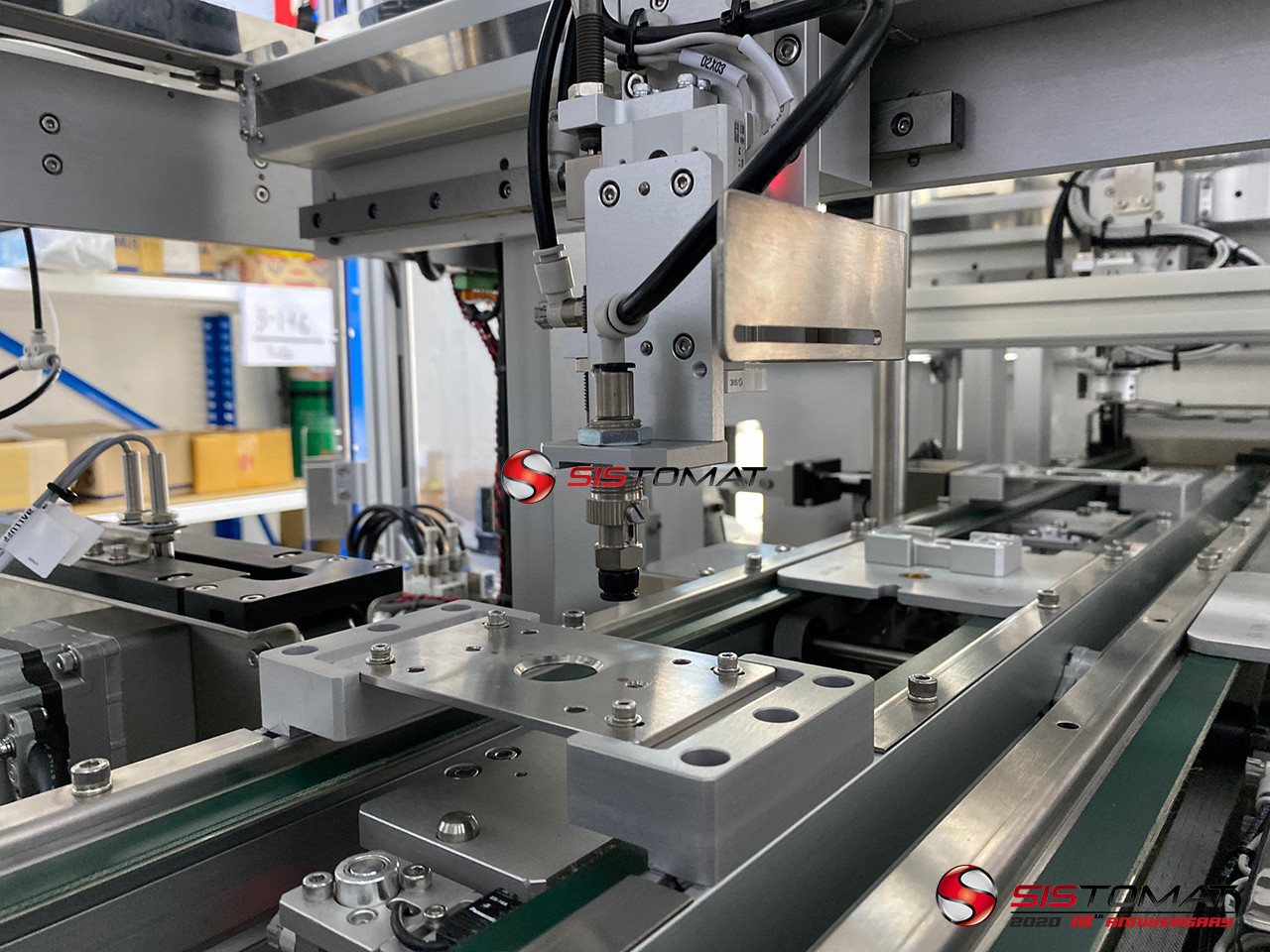 Fully Automated Assembly Line For Active Rfid