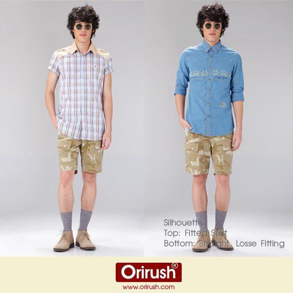 ผลงานการสร้างแพทเทิร์นเสื้อเชิ้ต กางเกงขาสั้นและขายาว