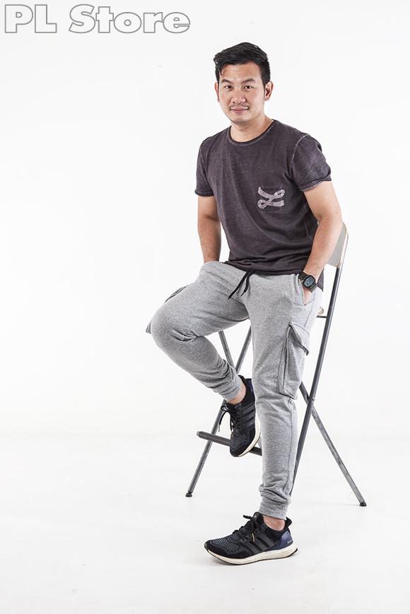 ผลงานการสร้างแพทเทิร์นกางเกงผ้ายืดขาจั้มพ์ Jogger Pants