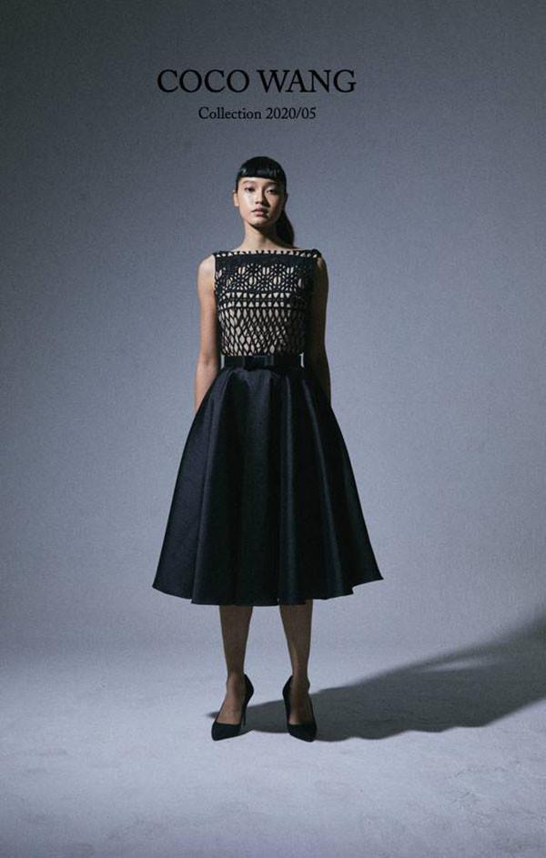 ผลงานเสื้อผ้าผู้เรียน เสื้อผ้าสำเร็จรูป แบรนด์ Coco Wang คอลเลคชั่น 2020/05 โดยคุณ ฐานิสสร์  (เอ้)