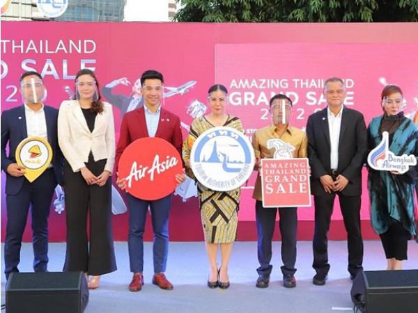 """""""ททท."""" จัด Amazing Thailand Grand Sale 2020 : NON STOP SHOPPING กระตุ้นการใช้จ่ายนักท่องเที่ยว"""