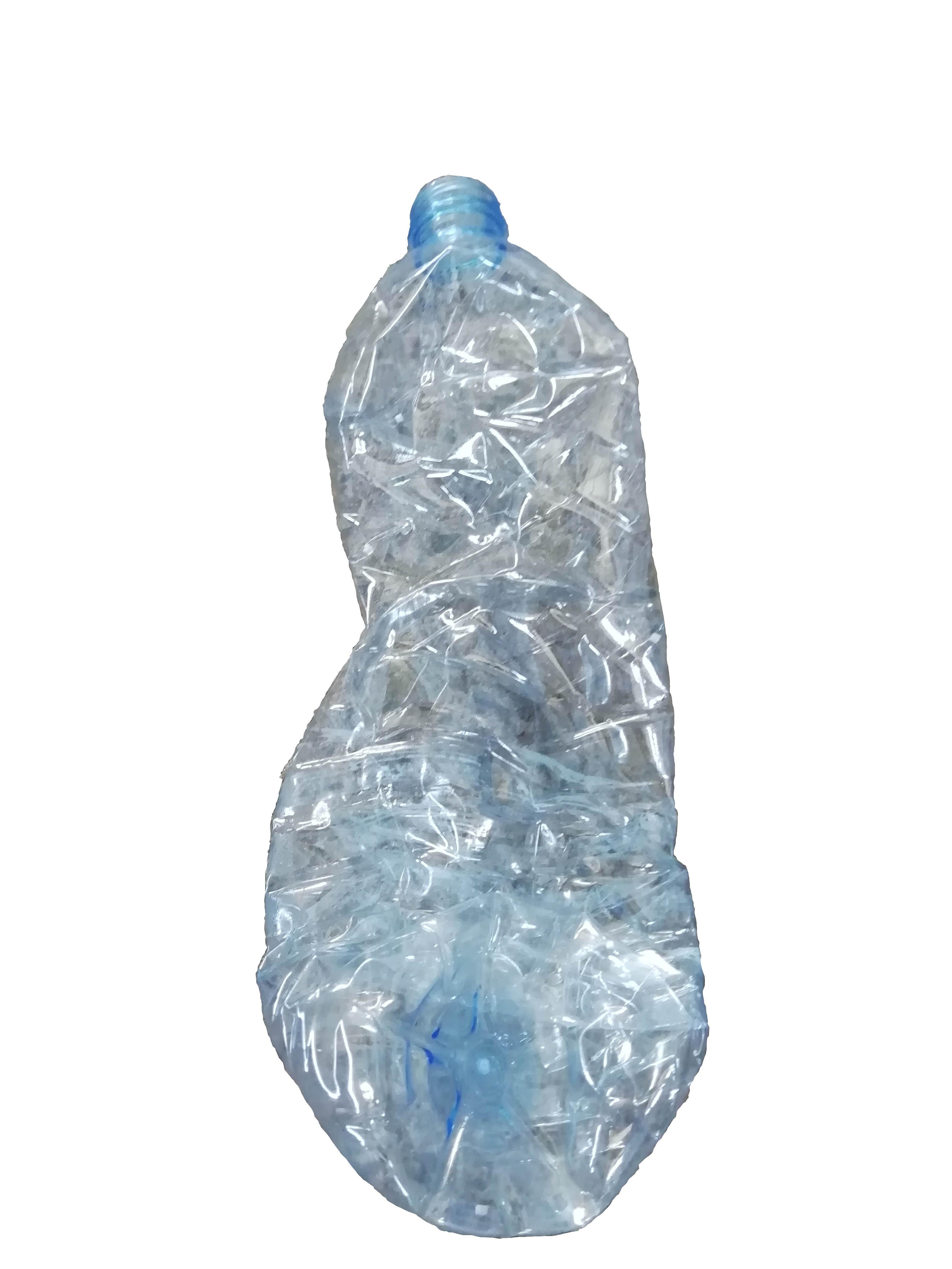 รับซื้อขวดน้ำแกะฉลากแยกสีฟ้า