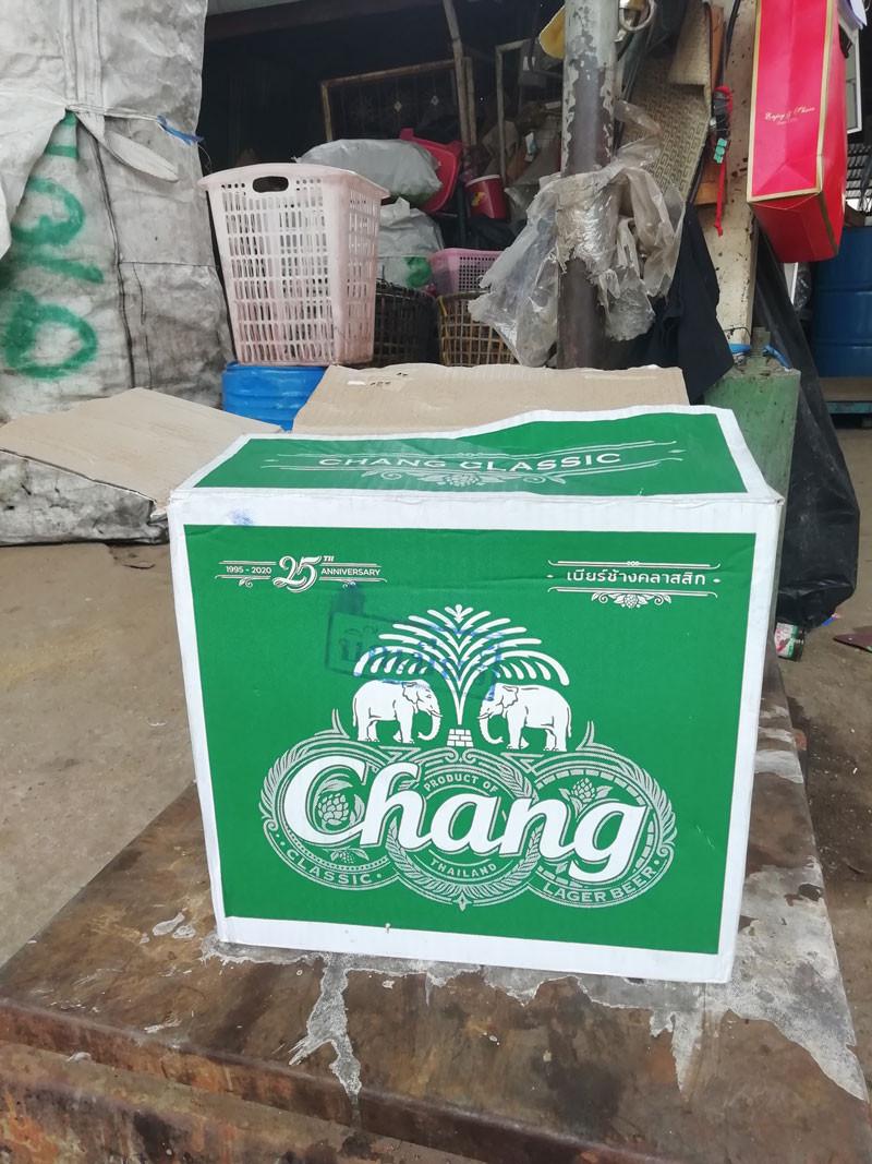 จำหน่ายกล่องเบียร์กล่องเหล้ามือ2