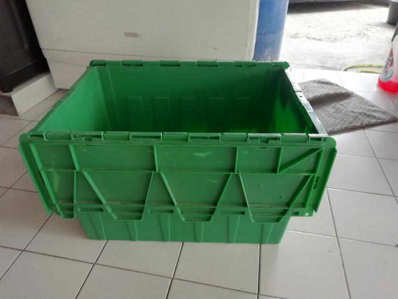 กล่องพลาสติกเก็บของ มีฝาปิด ขนาด 65 ลิตร -กล่องอเนกประสงค์ ลังอเนกประสงค์ ลังพลาสติก กล่องเก็บของ