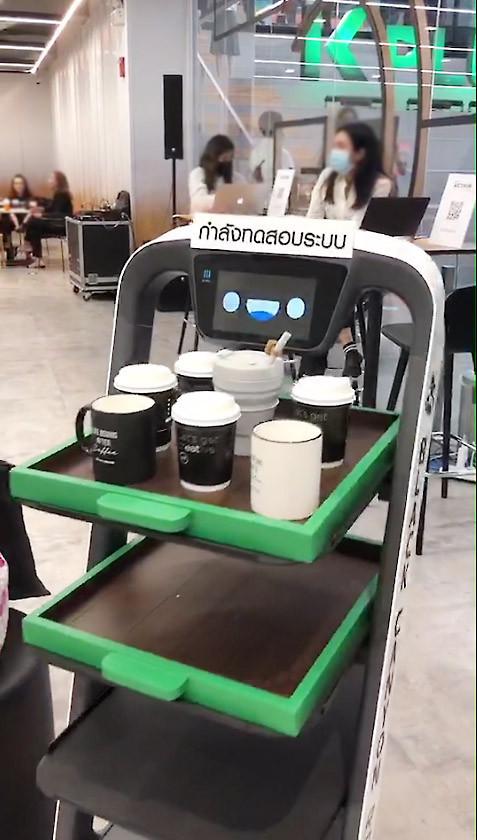 หุ่นยนต์บริการ PUDUBOT