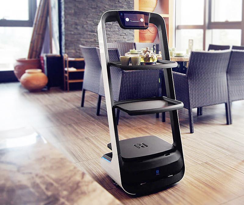 หุ่นยนต์บริการ ( Dilivery Robot )