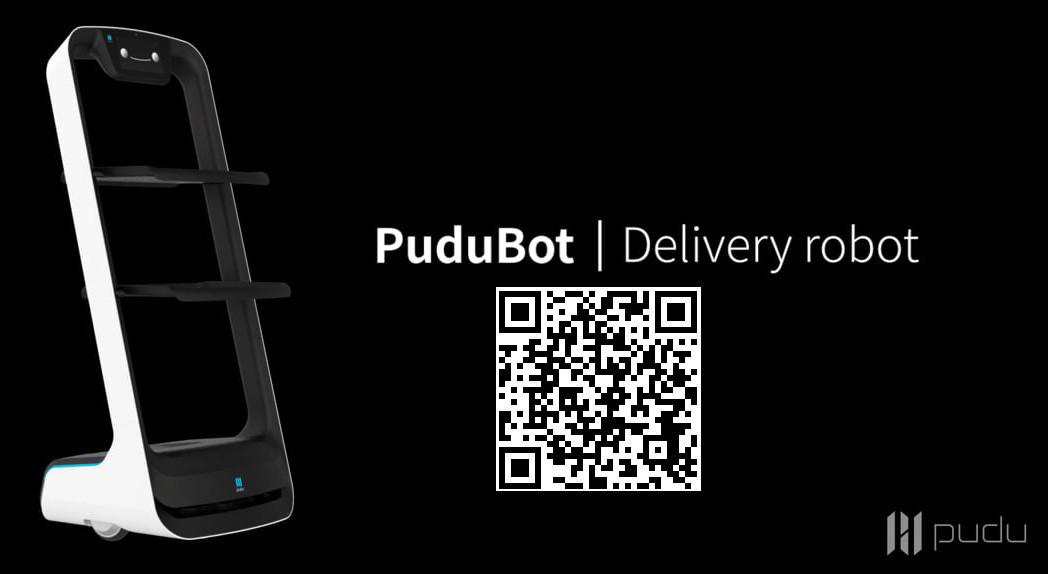 pudubot หุ่นยนต์บริการ